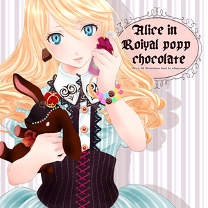 Alice in Roiyal popp chocolate