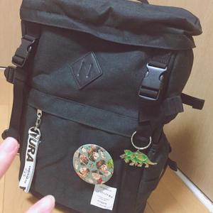 五行くん缶バッヂ&ポストカード