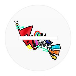 Booom!!!アクリルフィギュア/虹のファッショニスタ 赤爆乃音ver