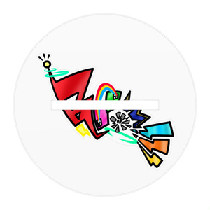 Booom!!!アクリルフィギュア/虹のファッショニスタ 聖愛紫ver