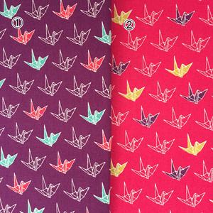 受注生産◆折り鶴のがま口カードケース