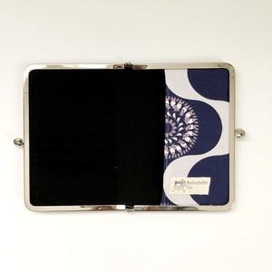 曼荼羅文鳥のがま口カードケース