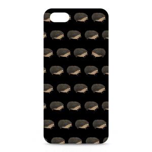 ハリネズミiPhoneケース iPhone5 黒