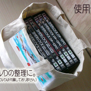 『青い紅玉』ミニトートバッグ(ポストカードつき)