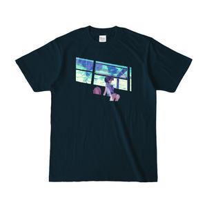 【Tシャツ】午睡列車【でかドットアニメgif】