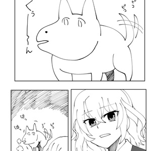 空からやってきた犬