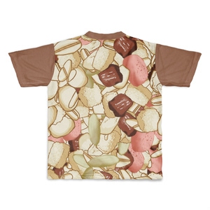 フルーツグラノーラのフルグラフィックTシャツ
