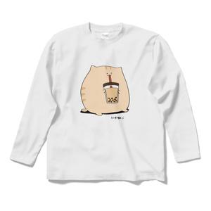にわねこ(タピオカ)長袖Tシャツ