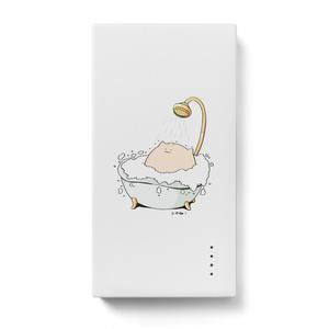 にわねこ(風呂)モバイルバッテリー