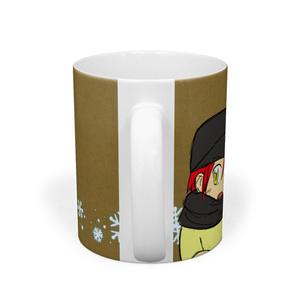 章くんマグカップ【冬】
