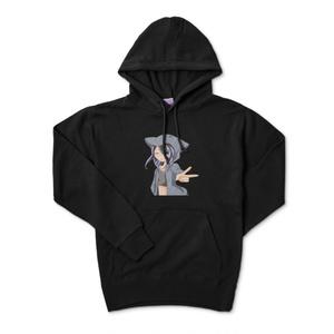 クロちゃんパーカー(黒)