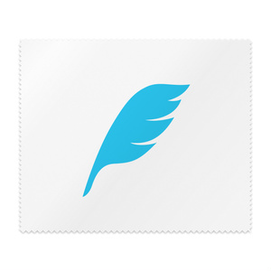 feather メガネ拭き
