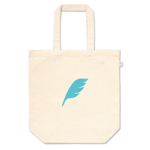 feather トートバッグ