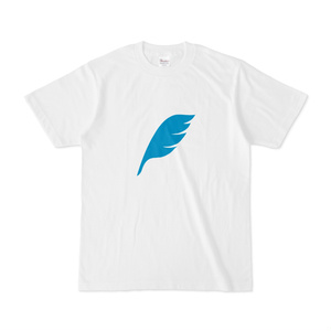 feather Tシャツ 白