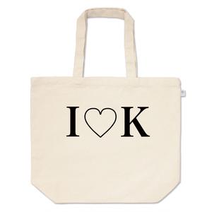 I♥K トートバッグ(白銀のクラン)