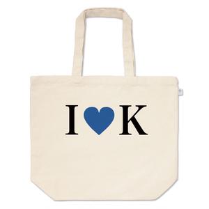I♥K トートバッグ(青のクラン)