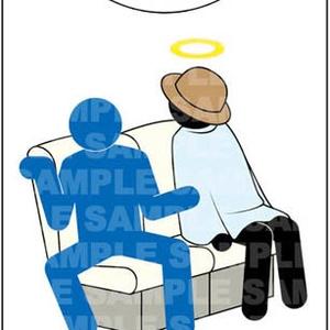 起こさないでくれ、死ぬほど疲れている ドアノブサイン【DS12】