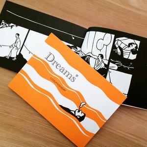 切り絵マンガ「Dreams」
