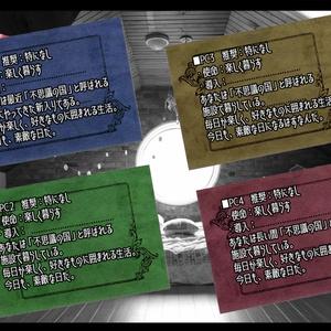 【シノビガミリプレイ】ALICE IN WONDER ROOM