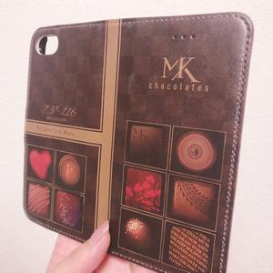 みつくりチョコモチーフiPhoneケース