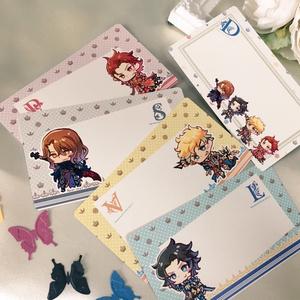 【グラブル】四騎士メッセージカード