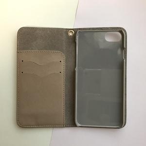 《 iPhone受注生産》ファーストストロベリー手帳型iPhoneケース
