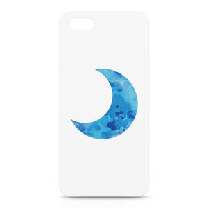 あおいろお月様iPhoneケース