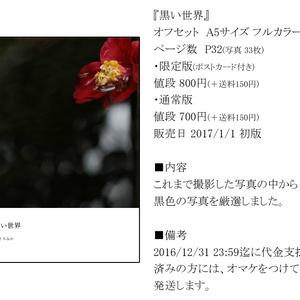 【限定版】黒い世界(写真集)