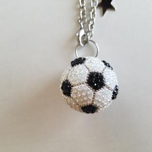 サッカーボールバッグチャーム