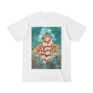 蛇神ナーガの沐浴 Tシャツ