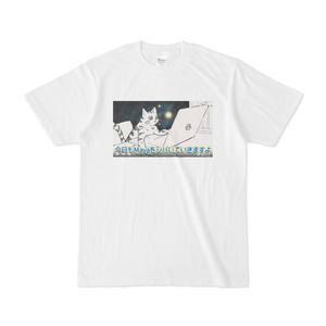 Mayaをシバく猫のTシャツ