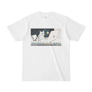 UnityをシバくMayaをシバく猫のTシャツ