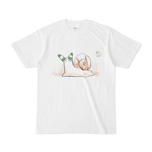 ロイコクロリディウムに寄生されたカタツムリTシャツですわ!