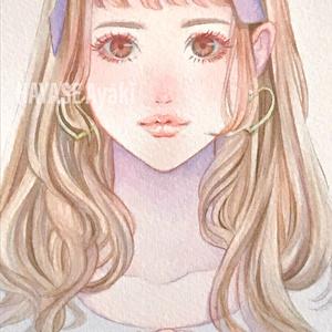 【原画】大人かわいい女子