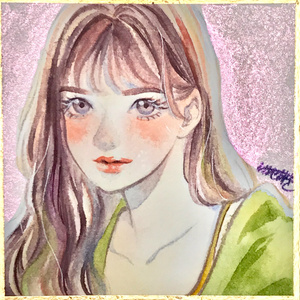 【色紙ドローイング】キラキラ(a)