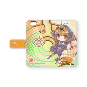 手帳型ケースiPhone6/6plus/iPhone5・5S - ゴーストちゃん&ユルセンちゃん