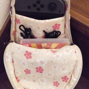 【a*f】Nintendo Switchバッグ【色柄お任せ受注生産】