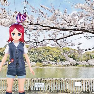 剛の池(明石公園/春)