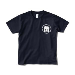 赤石夕コのTシャツ(ロゴメイン)