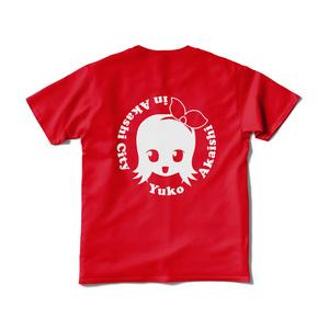 赤石夕コのTシャツ(シルエットメイン)