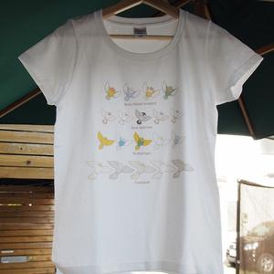 オリジナル鳥Tシャツ