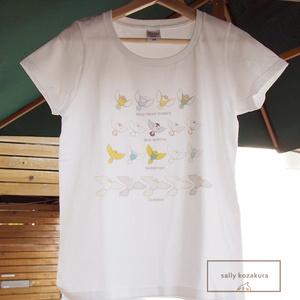 オリジナル鳥Tシャツ(冬のセール中)