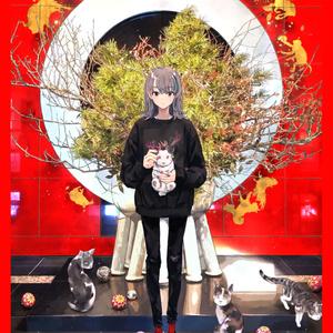 """""""庚子年""""限定生産直筆サインシリアルナンバー入りキャンバスアートF6号"""