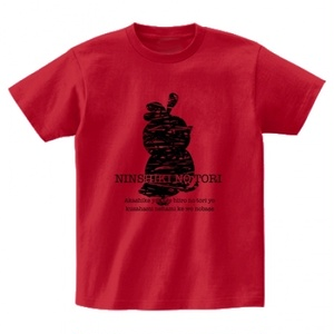 SCP-444-JP 認識の鳥 ( 緋色の鳥 )  Tシャツ 【収デン2】