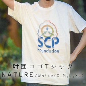 SCP ロゴ Tシャツ ネイチャー 【収デン3】