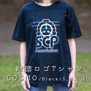 SCP ロゴ Tシャツ コスモ 【収デン3】