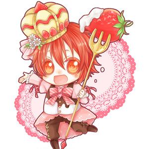 お菓子アクキー【陸】