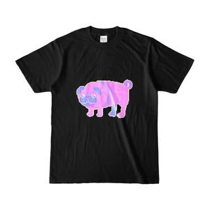 【Tシャツ】ぱぐ 黒