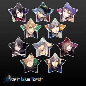 starlit blue topiaメタルバッジ