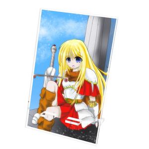 剣士ちゃんのアクリルスマホスタンド